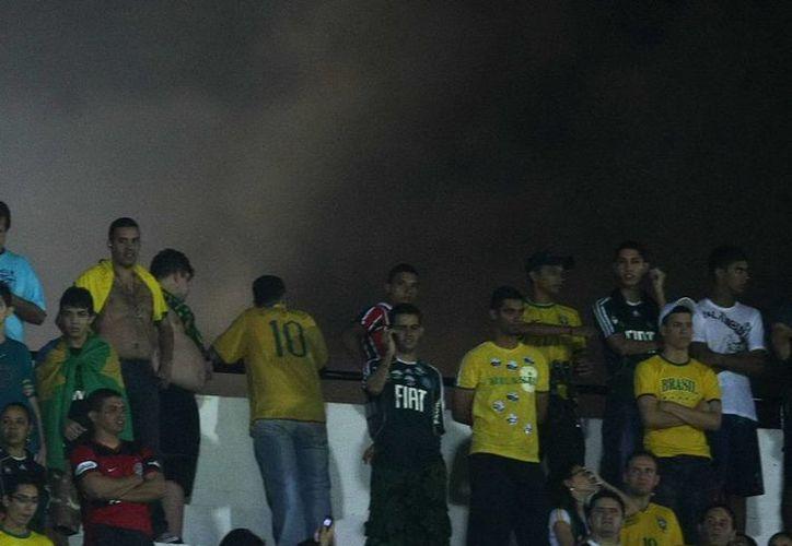A pesar de la frecuente violencia en estadios de Brasil y en general dentro del país, Río de Janeiro será seguro, según la secretaria de Seguridad de esta región. (EFE)