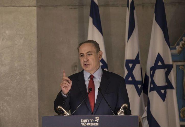 El primer ministro de Israel, Benjamin Netanyahu, dijo que su país y México seguirán teniendo buenas relaciones. (AP/Tsafrir Abayov)