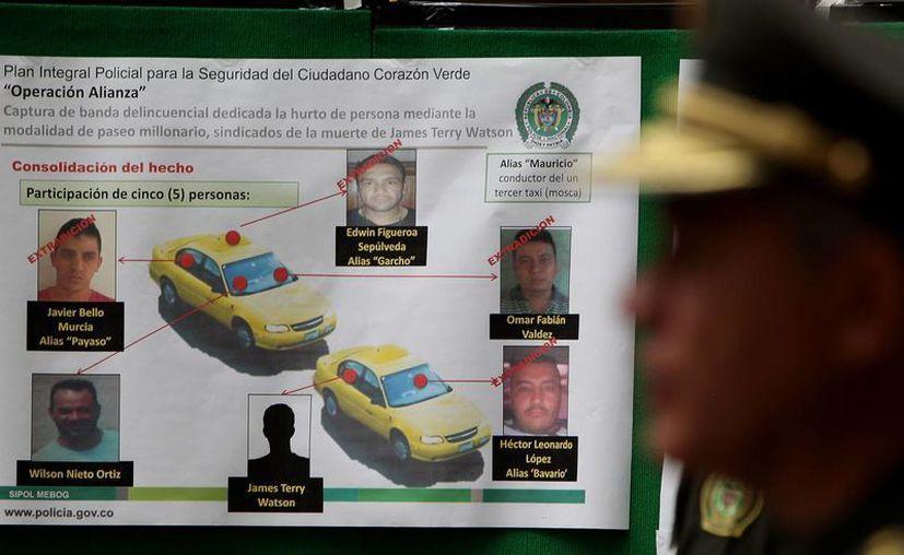 La policía informó que hay otras dos personas que no han sido capturadas. (EFE)