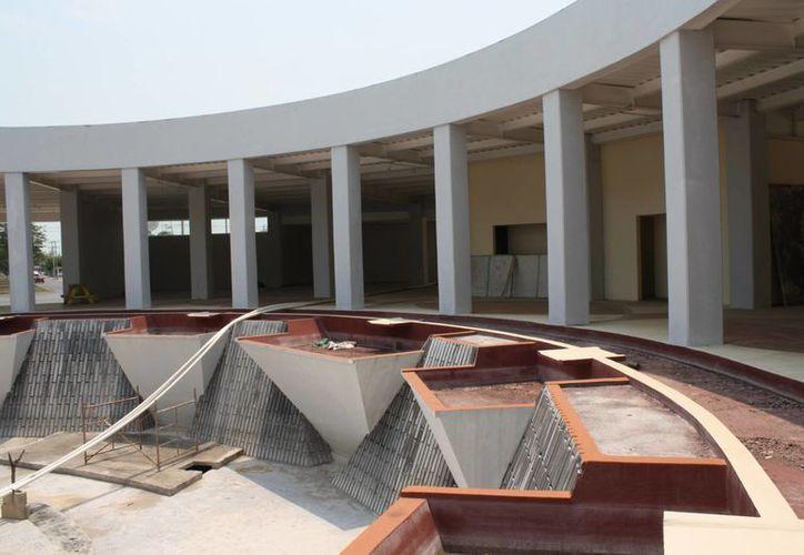 Se han invertido más de 10 millones de pesos en la construcción del complejo. (Harold Alcocer/SIPSE)