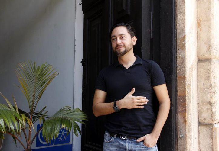 """El director del largometraje """"Réplica"""", Jorge Carlos Cortazar. (Milenio Novedades)"""
