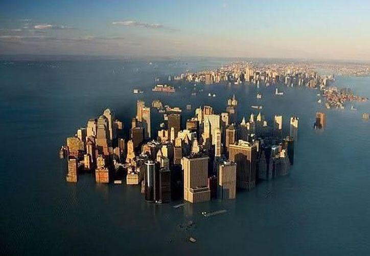 Las temperaturas siguen creciendo y los polos se siguen derritiendo, lo que provoca que el nivel del mar siga creciendo. (Contexto)