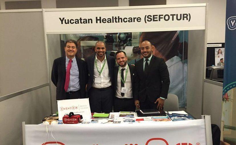 La Sefotur expuso en el segundo foro Destination Health, Canadian Medical Tourism Trade Show y en otros eventos en varias ciudades de Canadá las ventajas turísticas y médicas de Yucatán. (Foto cortesía del Gobierno estatal)