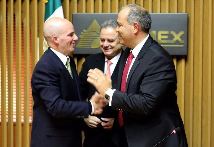 Carlos Alberto Treviño Medina, nuevo director general de PEMEX, afirmó ser esta, la responsabilidad más alta de su carrera profesional. (SIPSE)