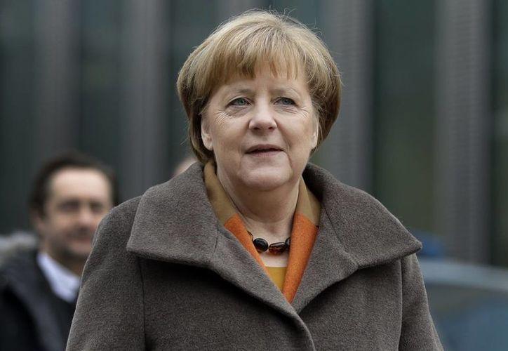 Angela Merkel buscará un periodo más como canciller de Alemania. (AP/Matthias Schrader)