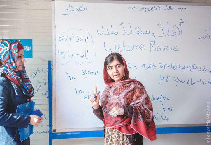 Pocos asteroides llevan nombre de mujer; ahora, el 316201 lleva el nombre de la destacada activista paquistaní Malala Yousafzai. (malala.org)