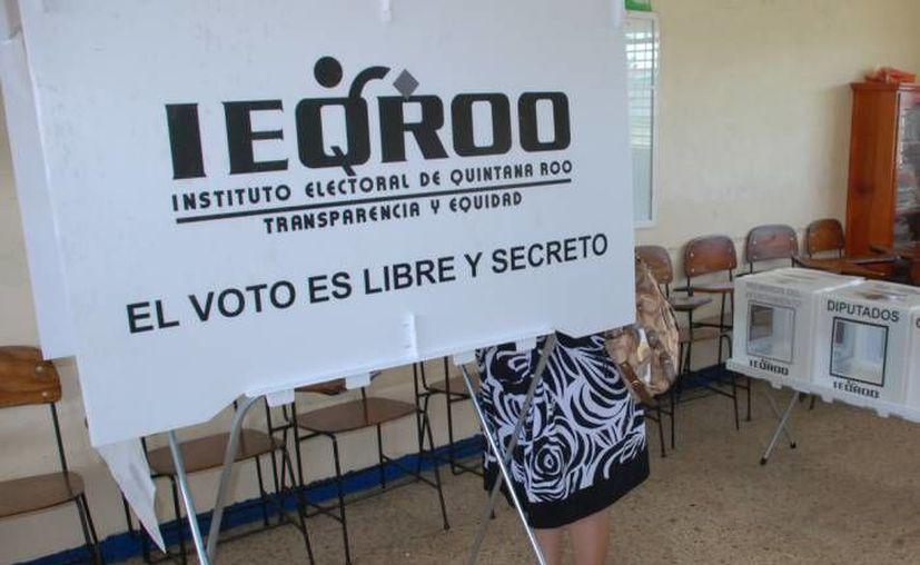 El Ieqroo precisó que este recurso se aplicará por primera vez en las elecciones. (Redacción/SIPSE)