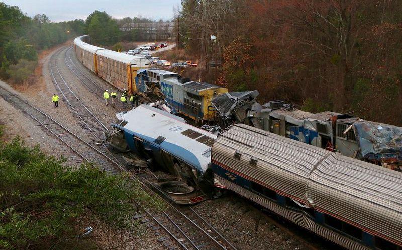 Resultado de imagen para tren carolina choque