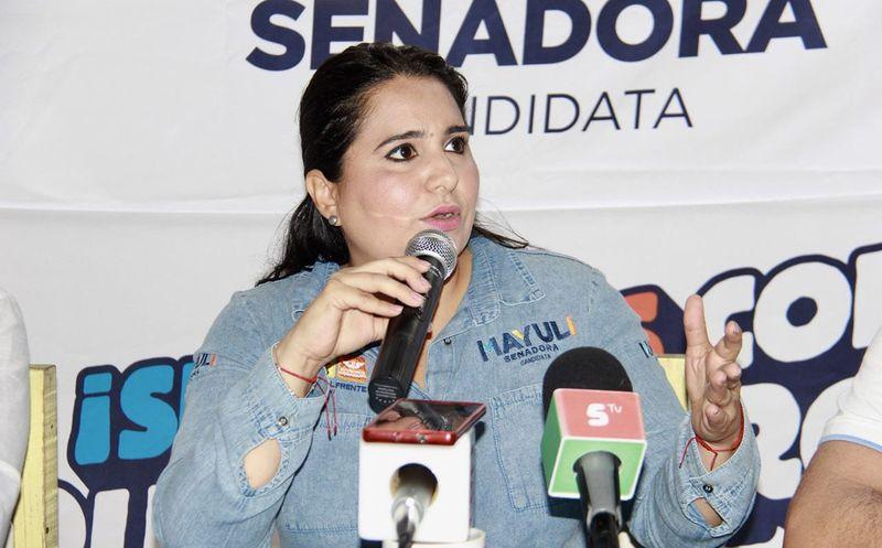 """Mayuli Martínez convocó a crear un frente el 1 de julio, y """"participar en la fiesta democrática"""". (Foto: Redacción)"""