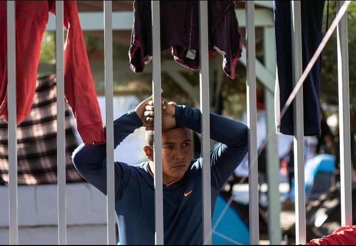 El contingente global que se espera es de nueve mil 664 migrantes. (Foto: AP)