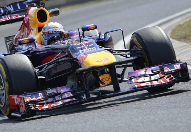 """""""Todavía hay margen de mejoría"""", comentó Vettel. (Agencias)"""