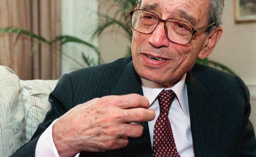 Boutros Boutros-Ghali fue secretario general de Naciones Unidas. Tenía 93 años al momento de su muerte. (AP)