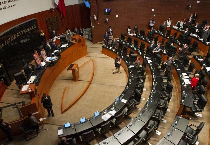 La bancada tricolor propondrá esta semana a los otros grupos parlamentarios llevar a cabo un periodo extraordinario para definir la Ley de Seguridad Interior. (Archivo/Notimex)