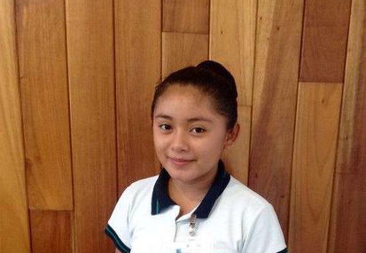 """Gelmy Patricia Uc Cauich, de Quintana Roo, será la oradora en el """"Primer encuentro de alumnos de origen indígena"""". (Redacción/SIPSE)"""