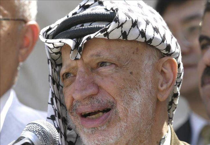 La viuda de Arafat fue la primera en denunciar que su marido falleció por polonio-210. (EFE)