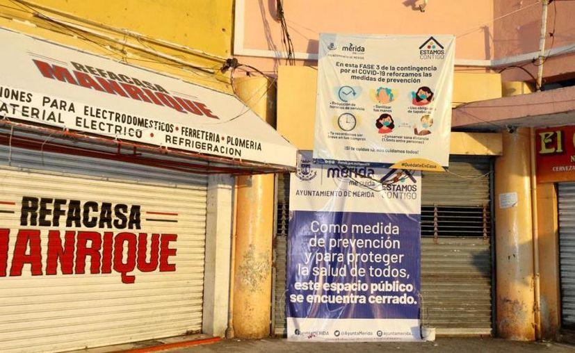 Los centros de abastos fueron cerrados temporalmente desde el 20 de mayo pasado. (Novedades Yucatán)