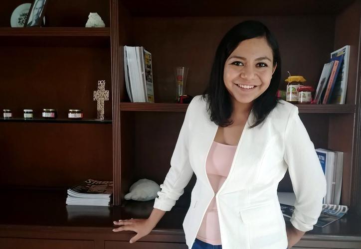 """""""Me siento muy afortunada y agradecida por el apoyo de la gente"""", dijo Citlali Ávila Padilla, estudiantes becada por Harvard. (Milenio Novedades)"""