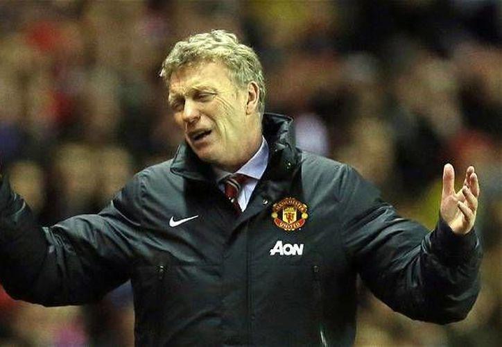 David Moyes había hecho del Everton un equipo muy competitivo, pero en el Manchester United le fue muy mal. (telegraph.co.uk)