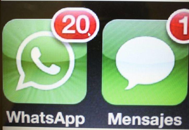 Uno de sus atractivos es que estas aplicaciones de mensajería se puedan descargar de forma gratuita. (Redacción/SIPSE)