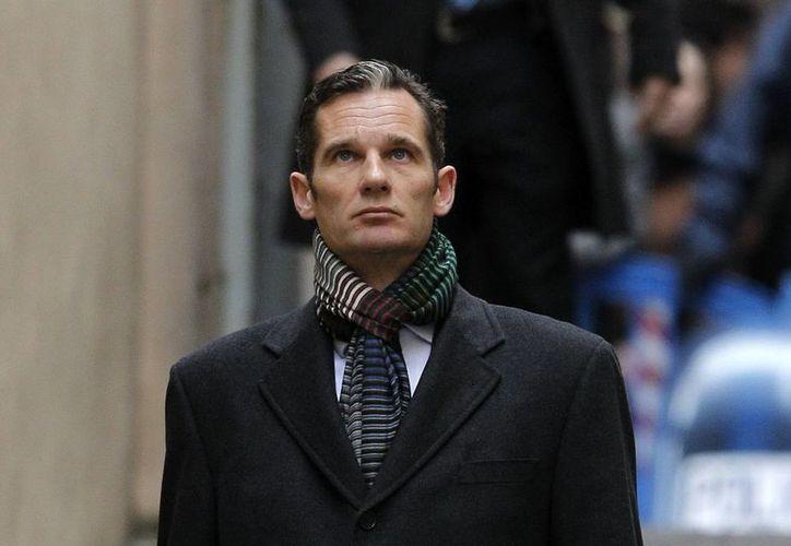 Iñaki Urdangarin entrando en los juzgados para declarar. (Archivo/EFE)
