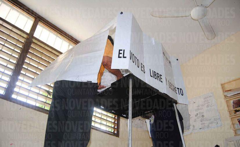 Las próximas elecciones están protegidas de irregularidades. (Israel Leal/SIPSE)