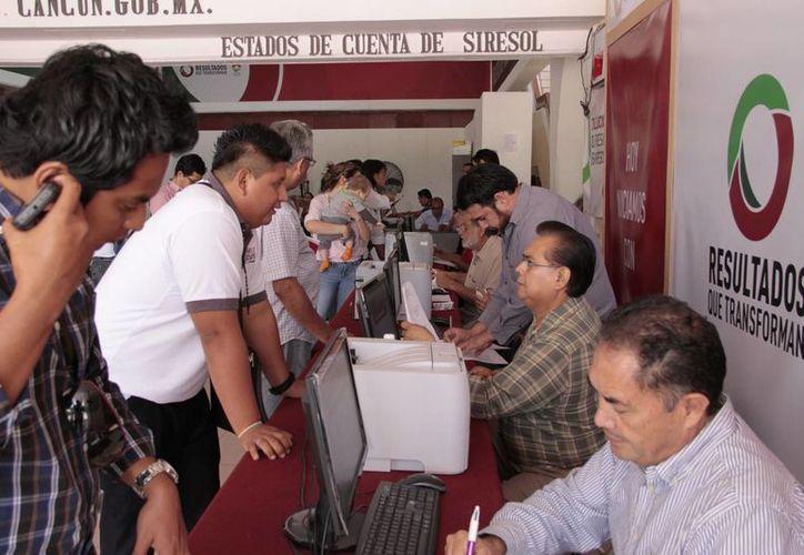 Para este año el Ayuntamiento año habilitó un pago en línea y a través de instituciones bancarias. (Redacción/SIPSE)