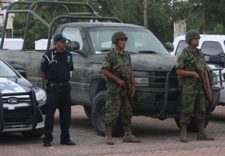 Incrementan la vigilancia ante la presencia de grupos delictivos. (Octavio Martínez/SIPSE)