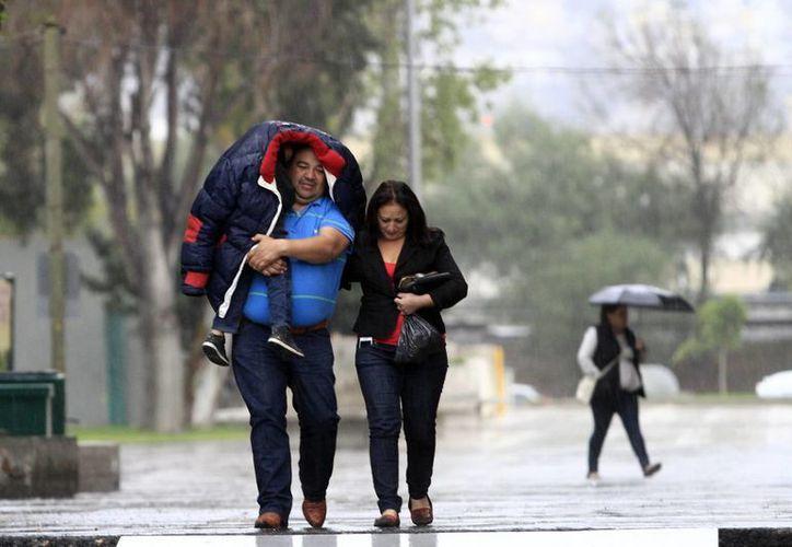 El frente frío 32 y la quinta tormenta invernal causará bajas temperaturas en estados como Sonora, Chihuahua y Durango. (Archivo/Notimex)