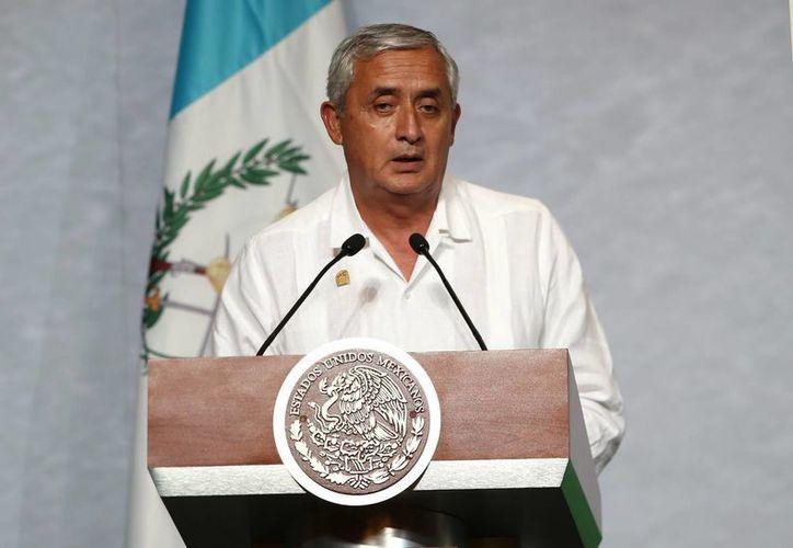 El presidente de Guatemala, Otto Pérez Molina, atribuyó el viaje de los menores no acompañados a la expectativa de la reunificación familiar. (Archivo/EFE)