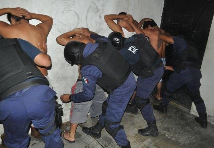 Un total de 266 detenidos se registraron durante el período.(Redacción/SIPSE)