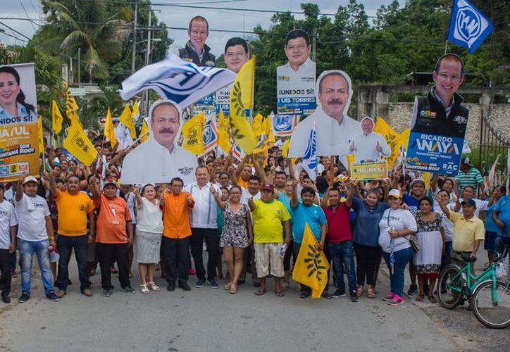 José Esquivel, Chak Me'ex, recorrió las comunidades sumando el apoyo de los habitantes. (Redacción/SIPSE)