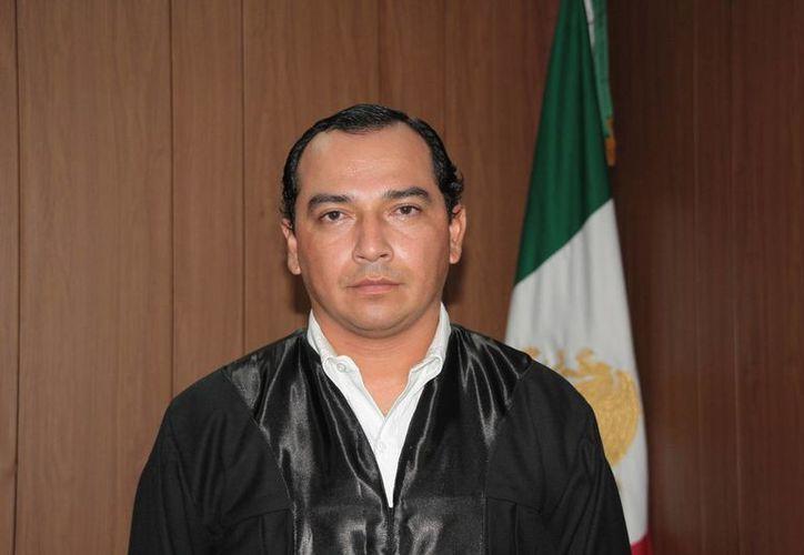 Ulises Valdemar Angulo Villanueva es el titular del juzgado. (Julián Miranda/SIPSE)