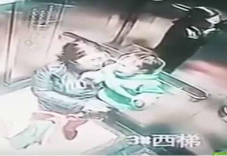 Los hechos ocurrieron en un ascensor de la ciudad de Zhengzhou, en China. (Contexto/Internet)