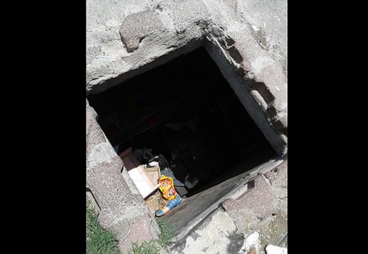 Una menor de edad fue hallada sin vida en la cisterna de un deportivo de la delegación Iztacalaco, ayer. (Milenio.com)