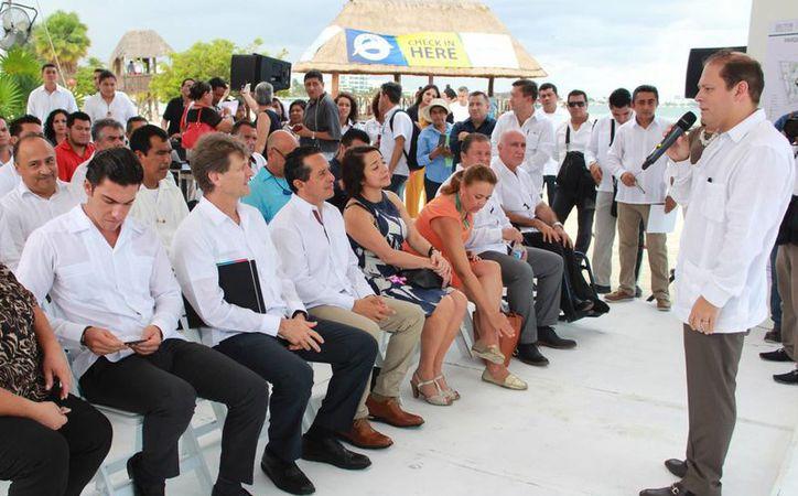 El proyecto fue presentado por las autoridades. (Luis Soto/SIPSE)