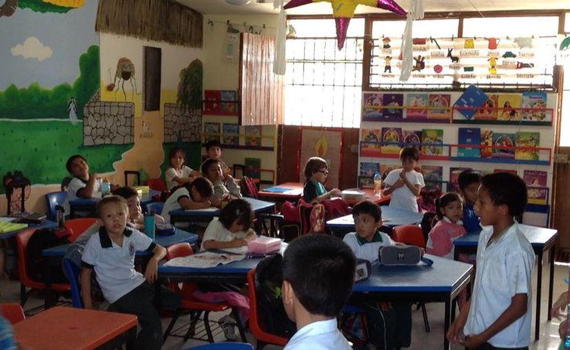 Tan sólo en primaria, la Secretaría de Educación de Yucatán tiene registrados 83 mil estudiantes. (David Pompeyo/SIPSE)