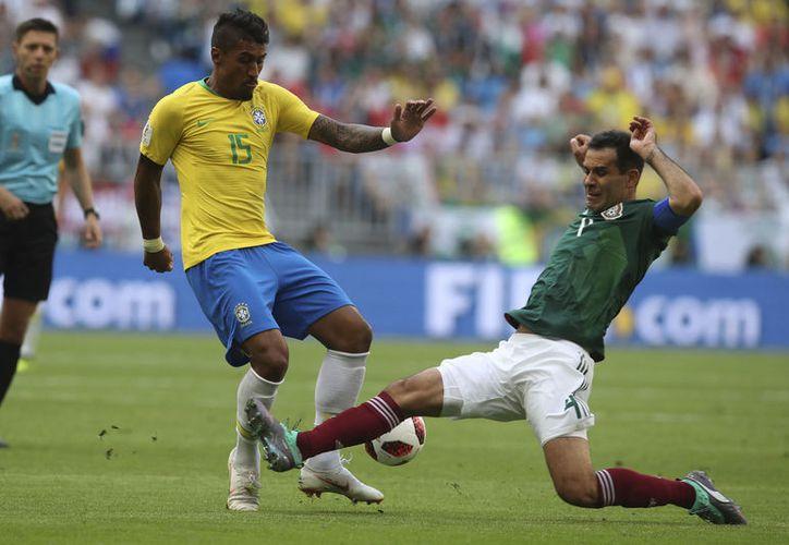 La derrota 2-0 contra Brasil en Rusia significó el último partido de Rafa Márquez con el Tri, al que le entregó 20 años de su vida (Foto: AP)