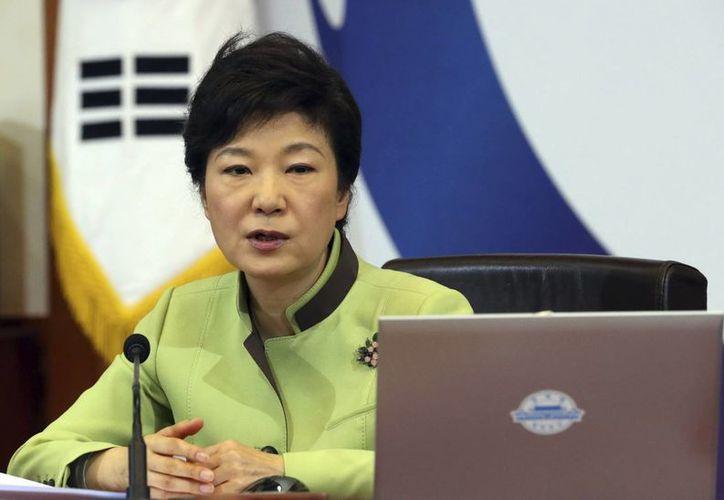 El positivo balance de la visita de la líder surcoreana quedó empañado por el desagradable incidente. (EFE)