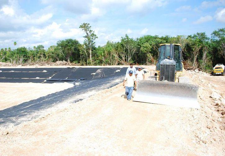 El nuevo relleno sanitario está ubicado en la zona continental de Isla Mujeres. (Tomás Álvarez/SIPSE)