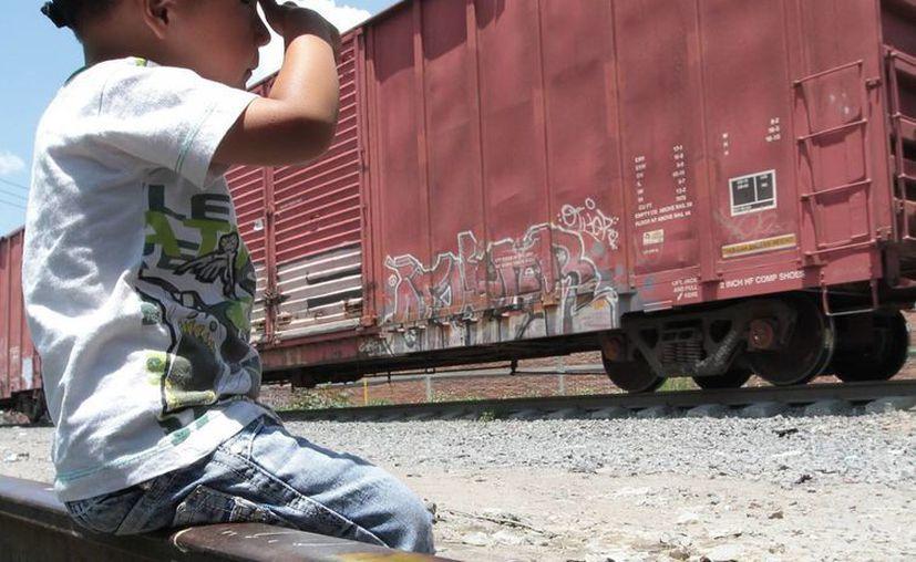 El Ombudsman nacional advierte que cada vez son más niños migrantes los que se han quejado contra autoridades mexicanas. (Archivo Notimex)