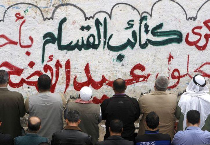 El cese al fuego alcanzado la víspera, también fue visto como una victoria por el líder supremo de Hamás. (Agencias)