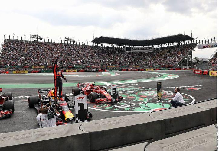 Este 2019 es el último año de contrato para el GPMX, luego de cuatro años consecutivos como la mejor carrera del circuito, con un máximo anual de derrama económica de más de 14 millones de pesos. (Agencia Reforma)