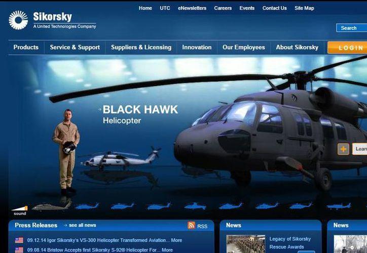 La empresa Sikorsky dijo que la venta de los UH-60M Blackhawk contribuirá al combate del narcotráfico. (sikorsky.com)