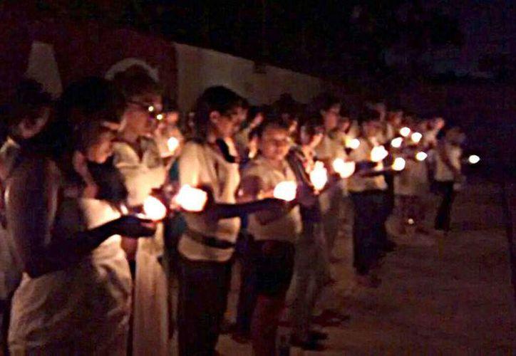 """Culmina la campaña """"La ULAC por un Quintana Roo libre de violencia"""". (Joshimar Mendoza/SIPSE)"""
