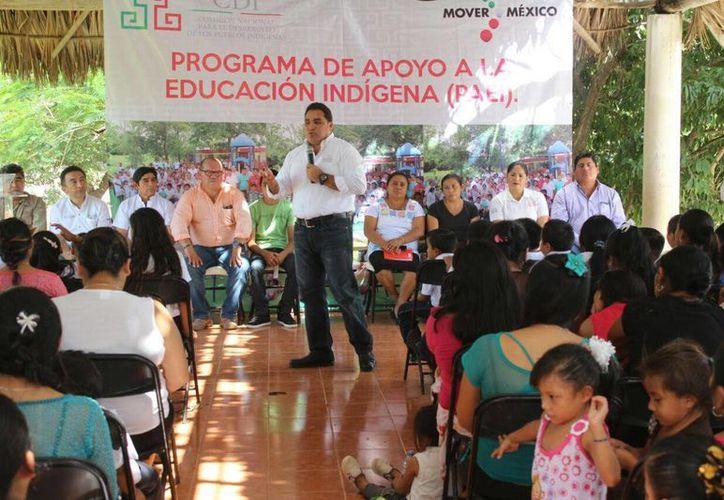 Además de la rehabilitación de la  'Casa del Niño Indígena' en Chemax se planea la construcción de otro edificio similar en Chapab. (Foto cortesía del Gobierno estatal)