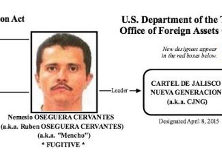 Nemesio Oseguera Cervantes, 'El Mencho', es buscado por las autoridades estadunidenses. (Foto: Milenio)