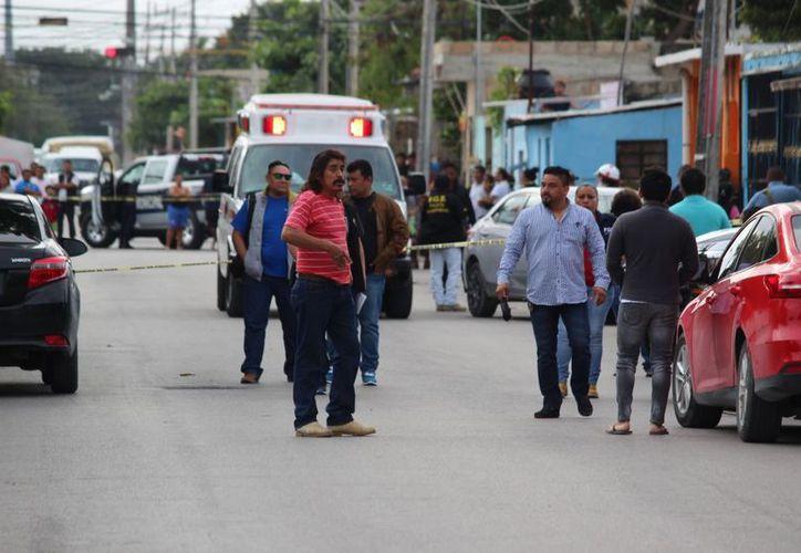 Un sujeto fue asesinado a balazos en la Región 229, afuera de su vivienda. (Foto: Redacción)