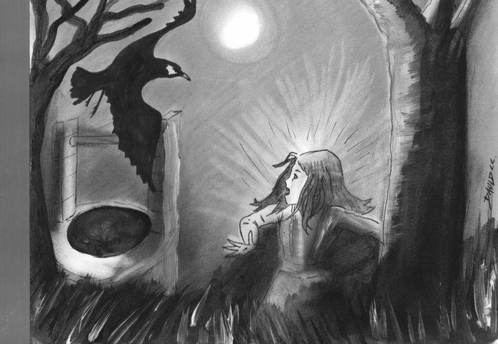 Tras varios años de cautiverio, los pájaros negros salieron del pozo para escapar de la maldición. (Jorge Moreno/SIPSE)