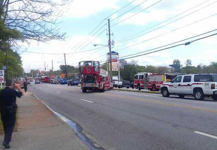 La explosión en Atlanta tuvo lugar un día después de la tragedia sucedida en el maratón de Boston. (Foto: Justin Gray/myfoxatlanta)