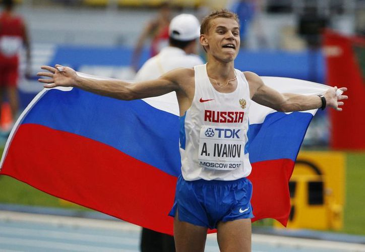 Alksandr Ivanov logró su mejor marca personal. (Agencias)